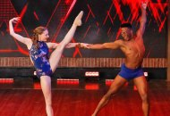 Styles and Emma during World of Dance redemption round