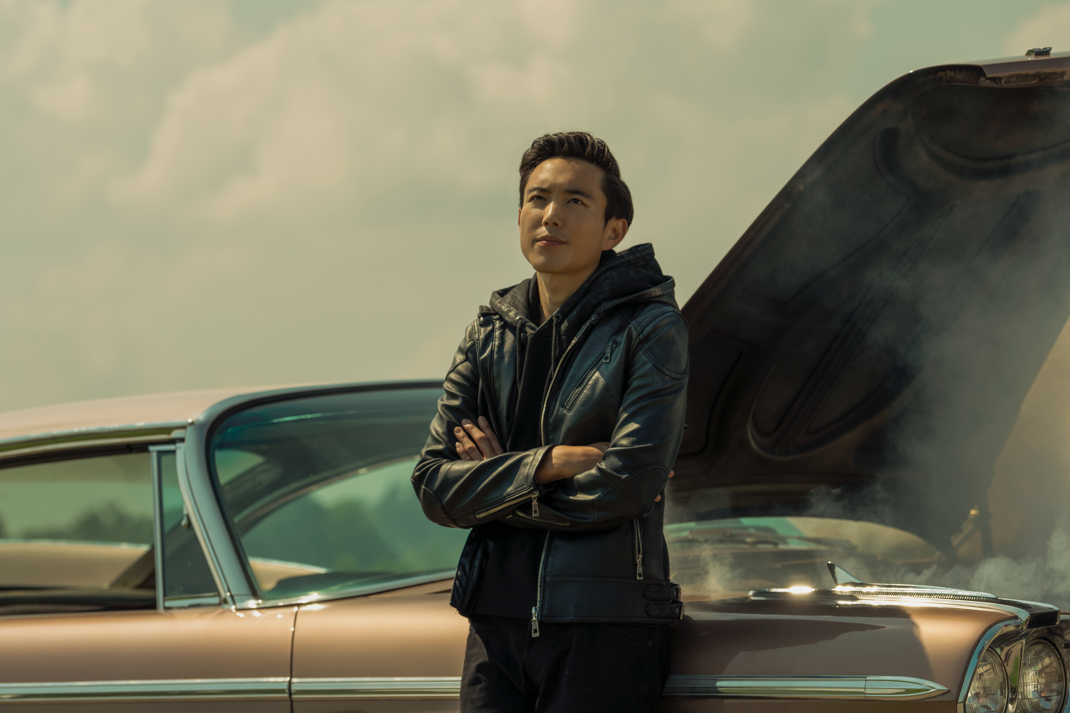 Justin H Min as Ben in The Umbrella Academy