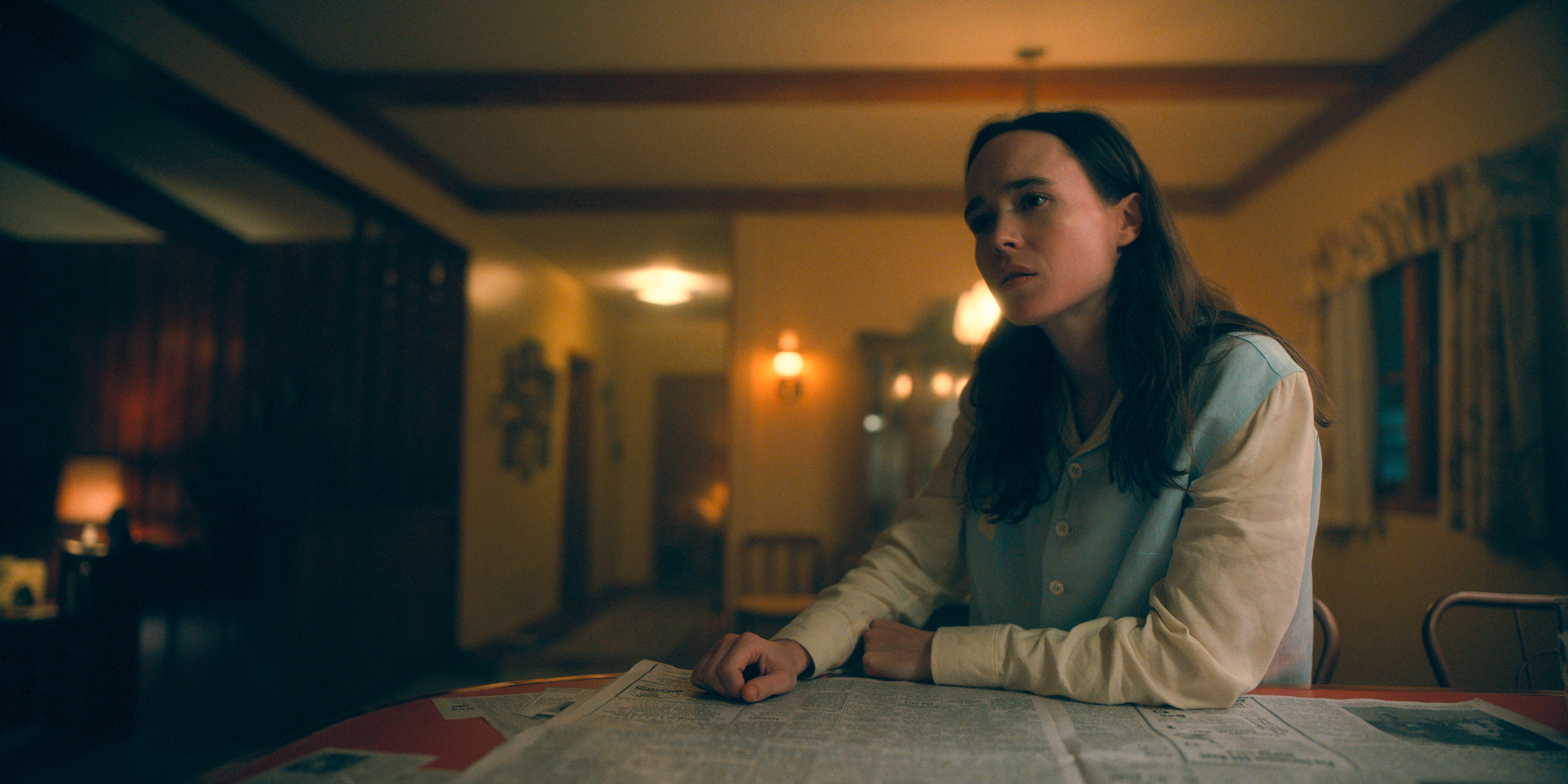 Ellen Page as Vanya in The Umbrella Academy