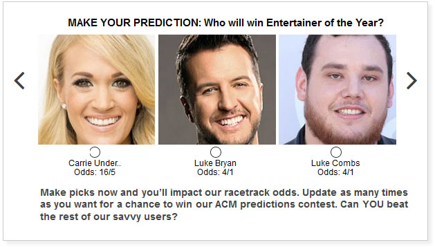 ACM Awards predictions for Entertainer of the Year