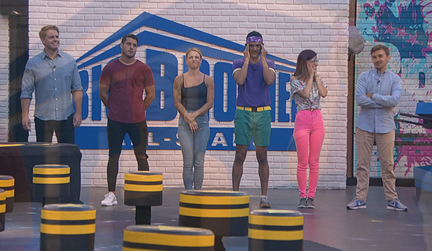 Memphis Garrett, Cody Calafiore, Christmas Abbott, Kevin Campbell, Nicole Anthony and Ian Terry, Big Brother