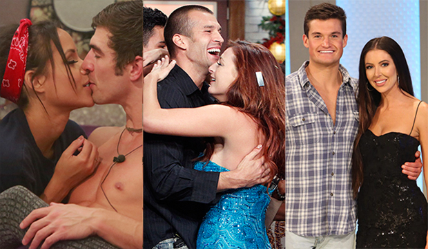 Jessica Graf and Cody Nickson, Big Brother 19; Brendon Villegas and Rachel Reilly, Big Brother 13; Jackson Michie and Holly Allen, Big Brother 21