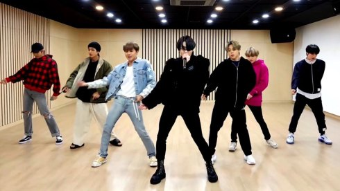 BTS at Late Late Show with James Corden Homefest