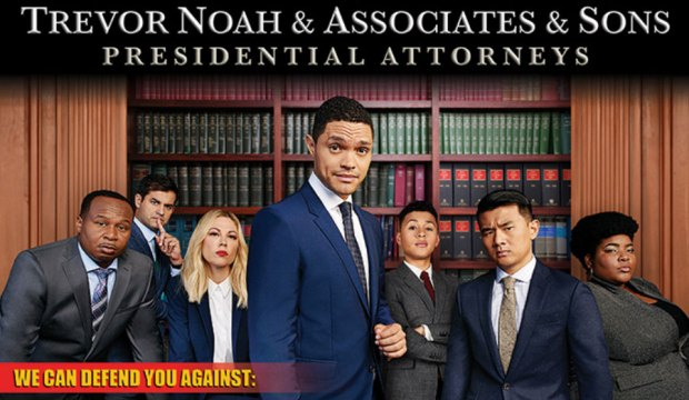 Daily Show with Trevor Noah Trump ad
