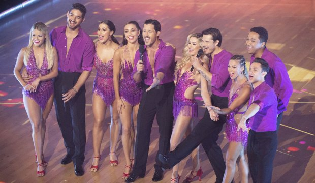 Dancing with the Stars DWTS pro dancers