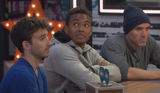 Ian Terry, David Alexander and Enzo Palumbo, Big Brother 22