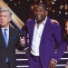 Tom Bergeron, Ray Lewis and Cheryl Burke, Dancing with the Stars