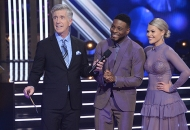 Tom Bergeron, Kel Mitchell and Witney Carson, Dancing with the Stars