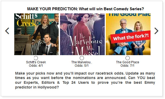 Emmy predictions for Best Comedy Series
