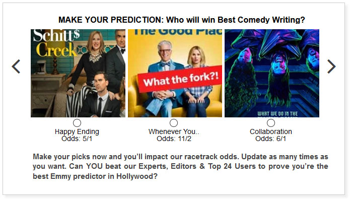 Emmy predictions for Best Comedy Writing