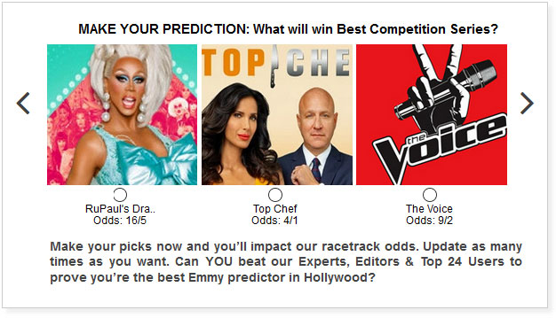 Emmy predictions for Best Competition Program