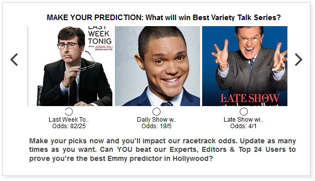 Emmy Variety Talk Series widget