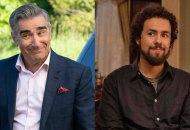 Eugene Levy in Schitt's Creek and Ramy Youssef in Ramy