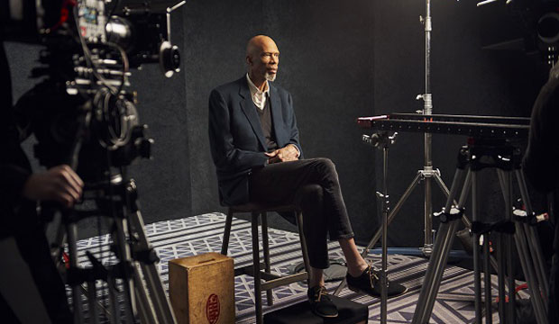 Kareem Abdul Jabbar in Black Patriots