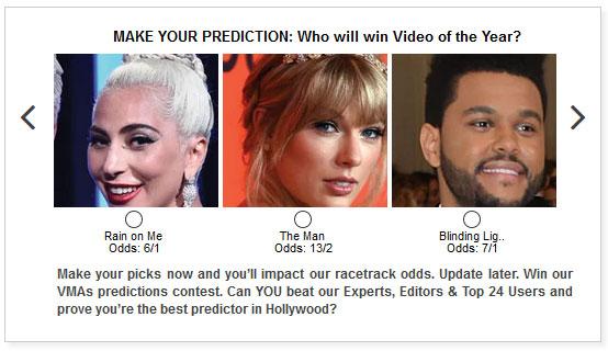 MTV VMAs widget