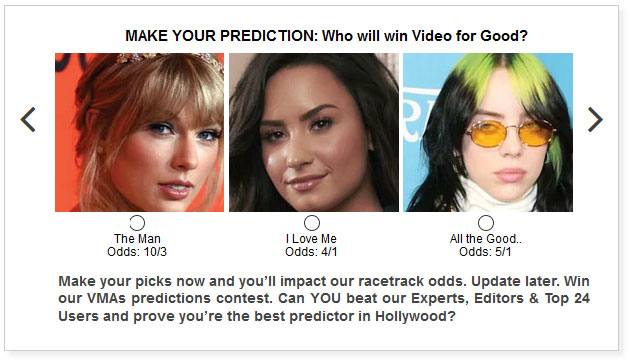 MTV VMA predictions for Video for Good