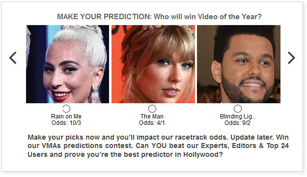 VMA predictions for Video of the Year