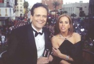 Melissa Rivers and Tom O'Neil at the Oscars