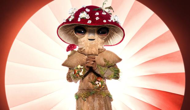 Mushroom the masked singer season 4 costumes