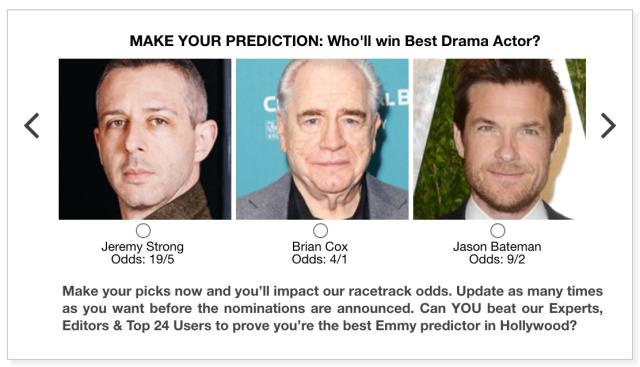 Emmys 2020 Best Drama Actor