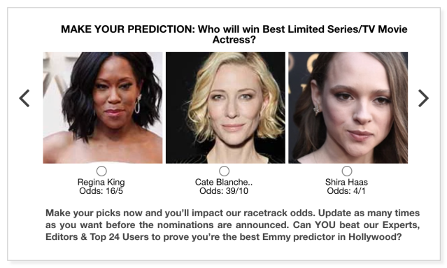 Emmys 2020 Best Limited Series/TV Movie Actress