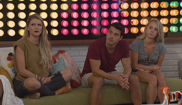 Dani Briones, Cody Calafiore and Nicole Franzel, Big Brother 22