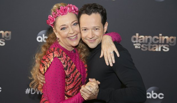 Carole Baskin and Pasha Pashkov on Dancing with the Stars