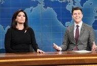 Cecily Strong as Jeanine Pirro on Saturday Night Live