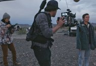 Chloe Zhao directs Frances McDormand in Nomadland