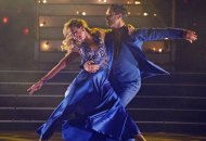 Monica Aldama and Val Chmerkovskiy on Dancing with the Stars