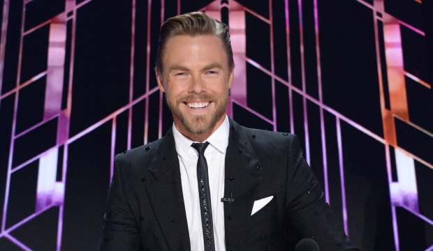 Derek Hough as Dancing with the Stars judge