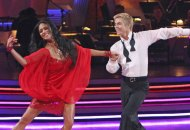 Derek Hough and Nicole Scherzinger on Dancing with the Stars DWTS