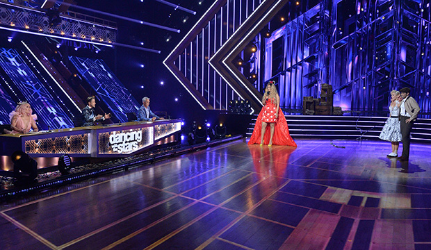 Carrie Ann Inaba, Derek Hough, Bruno Tonioli, Tyra Banks, Sharna Burgess and Jesse Metcalfe, Dancing with the Stars