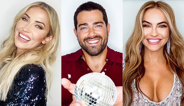 Kaitlyn Bristowe, Jesse Metcalfe and Chrishell Stause, Dancing with the Stars