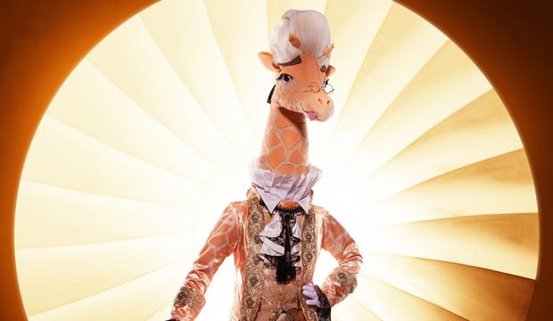 Giraffe the masked singer season 4 costumes