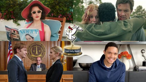 Gold Derby TV Awards nominees Marvelous Mrs Maisel, Ozark, Better Call Saul and The Daily Show with Trevor Noah