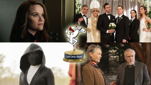 Schitt's Creek, Succession, Watchmen and Reese Witherspoon win Gold Derby TV Awards