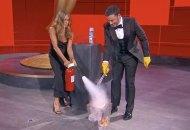 Jennifer Aniston and Jimmy Kimmel at Emmys 2020