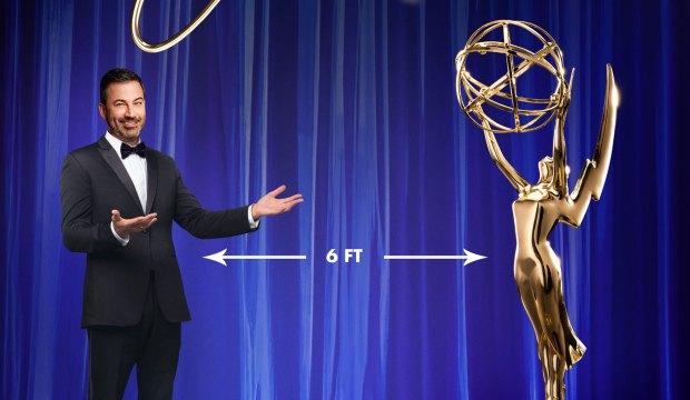 Jimmy Kimmel hosts 2020 Emmys