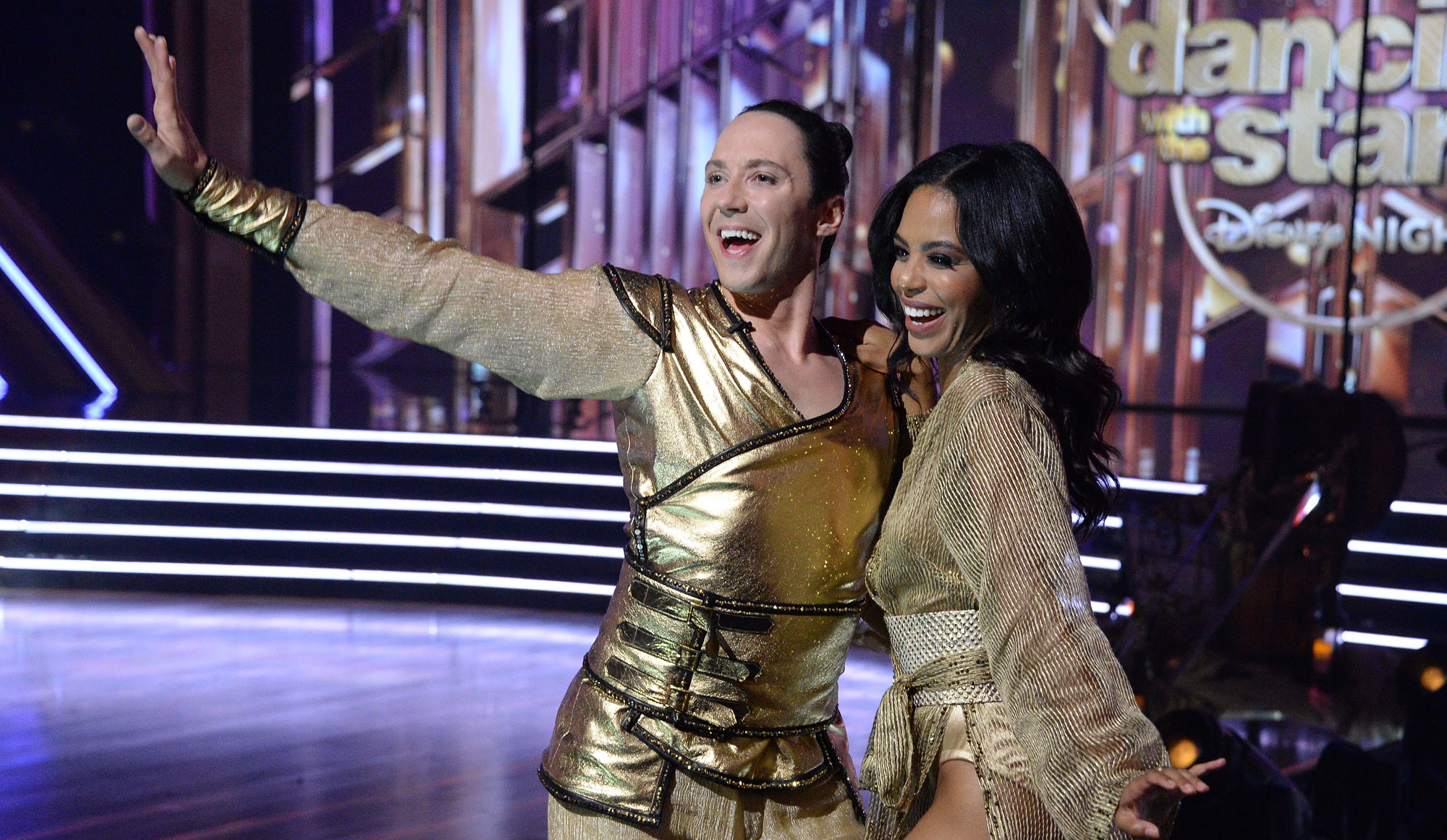 Johnny Weir finally breaks through on 'Dancing with the Stars' with this 'Mulan' rumba inspired by his family [WATCH]