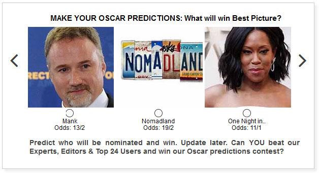 Oscar Best Picture widget