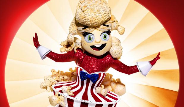 Popcorn the masked singer season 4 costumes
