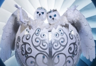 Snow Owls the masked singer season 4 costumes