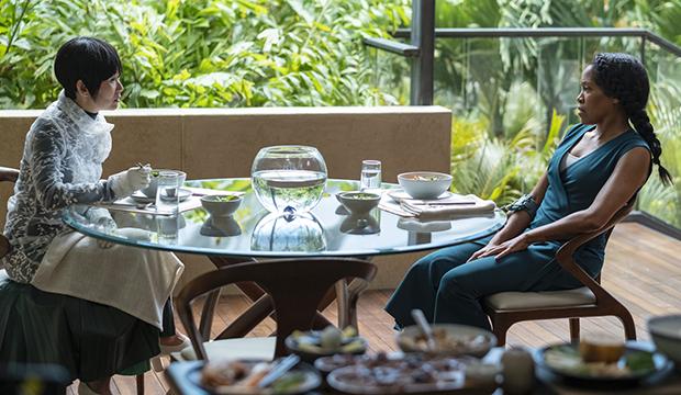 Hong Chau and Regina King, Watchmen