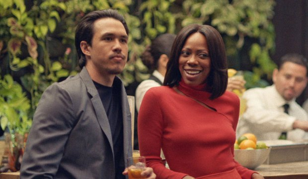 Yvonne Orji and Alexander Hodge in Insecure