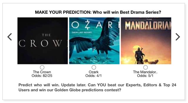 Golden Globes 2021 Best Drama Series