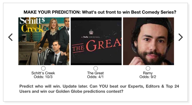 Golden Globes 2021 Best Comedy Series