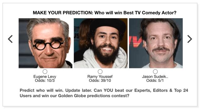 Golden Globes 2021 Best TV Comedy Actor predictions