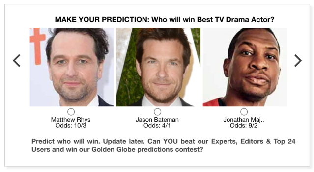 Golden Globes 2021 Best TV Drama Actor