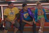 Enzo Palumbo, Cody Calafiore and Nicole Franzel, Big Brother 22
